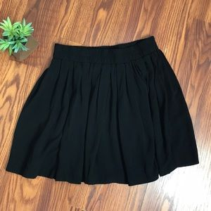 EUC Brandy Melville black skater skirt